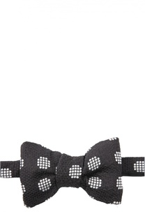 Шелковый галстук-бабочка с узором Tom Ford