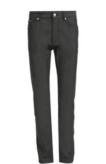 Прямые джинсы из эластичного хлопка BOSS