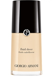 Флюид для сияния кожи Fluid Sheer, оттенок 001 Giorgio Armani