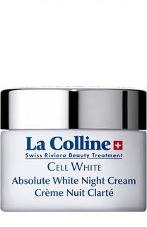Осветляющий крем для лица ночной Absolute White Night Cream La Colline