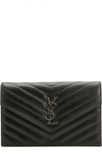 Сумка Monogram Envelope из стеганой кожи Saint Laurent