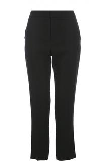 Укороченные брюки прямого кроя с завышенной талией Lanvin