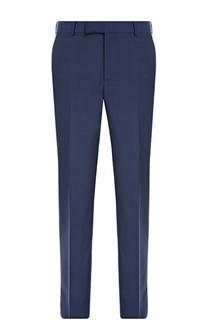 Шерстяные брюки прямого кроя Alexander McQueen
