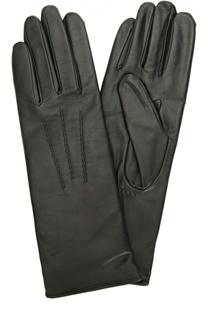 Кожаные перчатки с подкладкой из шерсти Agnelle