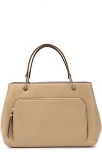 Кожаная сумка Greenwich Medium DKNY