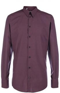 Хлопковая рубашка с узором Dolce & Gabbana