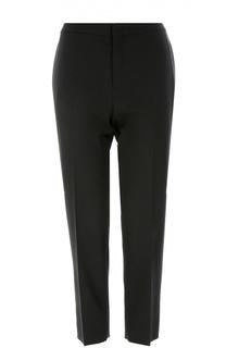 Укороченные брюки прямого кроя со стрелками Chloé