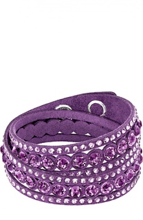 Браслет Slake Dot Purple Swarovski