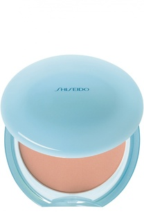 Матирующая компактная пудра без содержания масел оттенок 10, cменный блок Shiseido