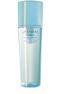 Освежающая очищающая вода Pureness без содержания масел и спирта Shiseido
