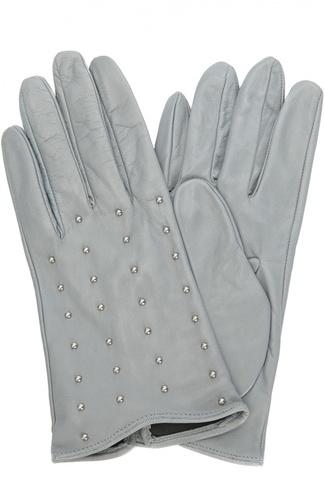 Кожаные перчатки с металлическими заклепками Sermoneta Gloves