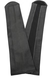 Кожаные перчатки-манжеты без пальцев Agnelle
