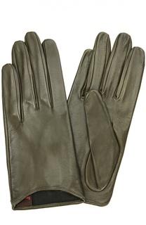 Укороченные кожаные перчатки Sermoneta Gloves