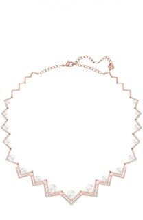 Широкое ожерелье Edify Swarovski
