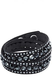 Браслет Slake Dot Black Swarovski
