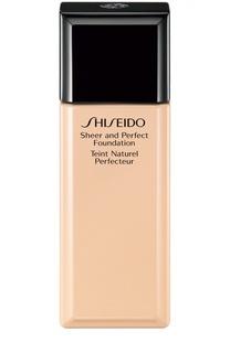 Тональное средство с полупрозрачной текстурой, оттенок B40 Shiseido