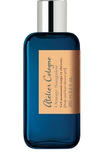 Гель для душа Orange Sanguine Atelier Cologne