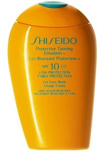 Защитная эмульсия для загара c SPF10 Shiseido