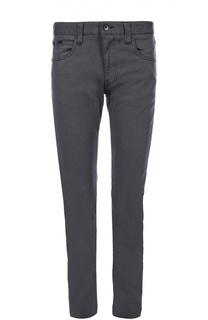 Зауженные джинсы из эластичного хлопка Armani Collezioni