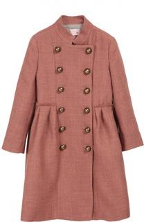 Двубортное пальто с крупными пуговицами Lanvin