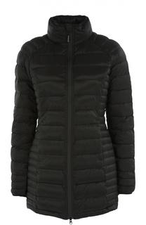 Приталенная стеганая куртка с высоким воротником Canada Goose