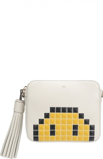 Сумка Pixel Smiley с принтом Anya Hindmarch