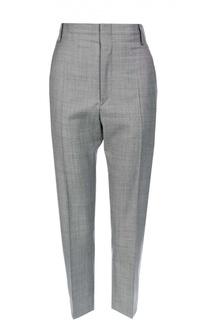 Укороченные шерстяные брюки с завышенной талией Isabel Marant Etoile