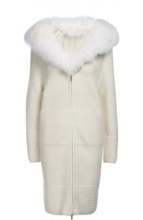 Пальто вязаное Colombo