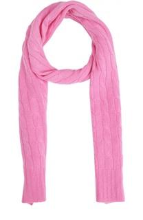 Кашемировый шарф фактурной вязки Polo Ralph Lauren