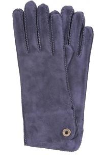 Замшевые перчатки Loro Piana