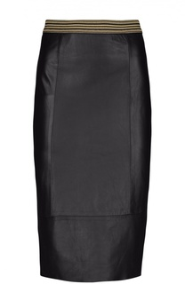 Кожаная юбка Ottodame