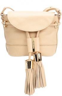 Кожаная сумка Vicki See by Chloé