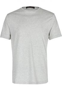 Хлопковая футболка с круглым вырезом Loro Piana