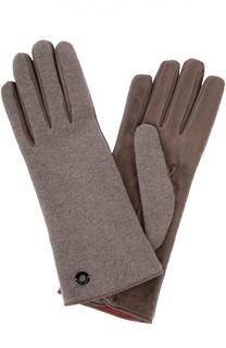 Перчатки из кашемира и замши Loro Piana