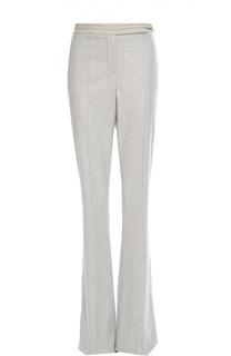 Расклешенные кашемировые брюки в тонкую полоску Loro Piana