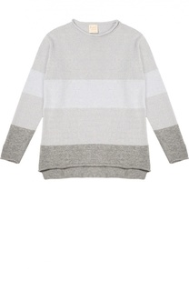 Шерстяной пуловер с круглым вырезом Kuxo Cashmere