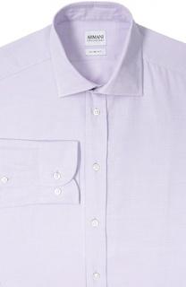 Сорочка из фактурного хлопка Armani Collezioni