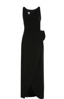 Платье-макси без рукавов с декоративной отделкой Armani Collezioni