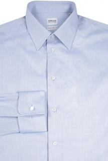 Хлопковая сорочка с французскими манжетами Armani Collezioni