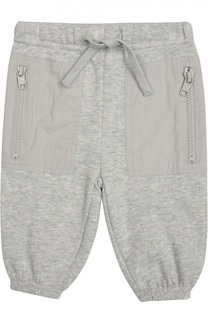 Хлопковые брюки с накладными карманами Stella McCartney