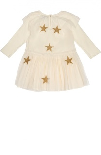 Платье с нашивками Stella McCartney