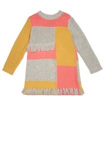 Вязаное платье с бахромой Stella McCartney