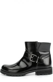 Кожаные ботинки с ремешком Gallucci