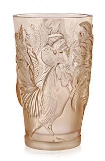 Ваза с петухами Lalique
