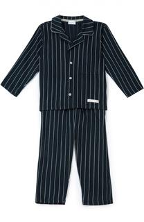 Хлопковая пижама в полоску Grigioperla