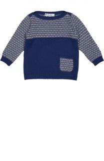 Пуловер из кашемира с накладным карманом Loro Piana