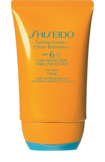 Крем для загара c SPF6 Shiseido
