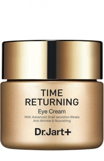 Антивозрастной крем для глаз с муцином улитки Time Returning Dr.Jart+