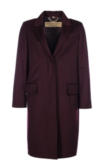 Кашемировое пальто прямого кроя с карманами Burberry