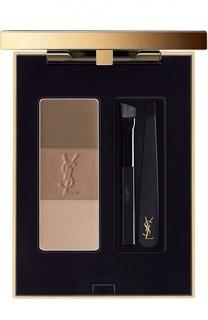 Палетка для бровей Couture Brow, оттенок 01 YSL